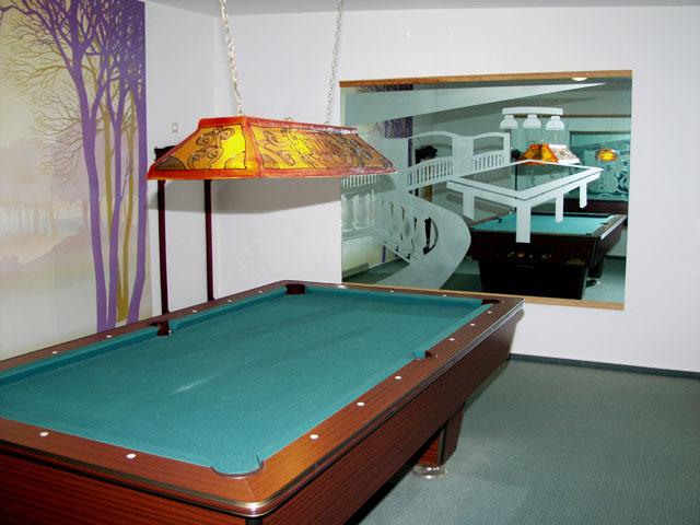 Pool-Billardraum